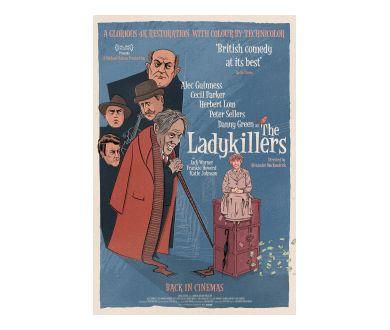 Tueurs de dames (1955) avec Alec Guinness officialisé en 4K Ultra HD Blu-ray
