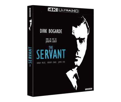 The Servant (1963) en édition Collector 4K Ultra HD Blu-ray le 29 septembre