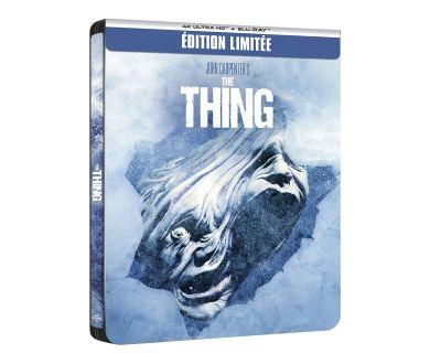 MAJ : The Thing de John Carpenter en précommande Steelbook 4K Blu-ray (le 29 septembre)