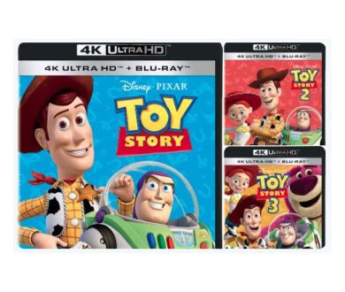 MAJ : Toy Story : Les trois premiers volets en juin au format 4K Ultra HD Blu-ray ?