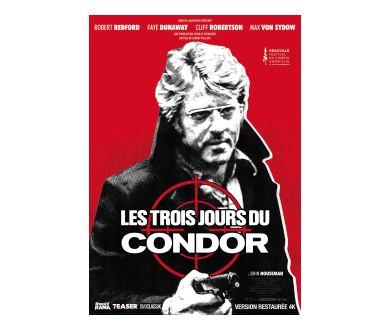 Les 3 Jours du Condor (Restauration 4K) : Sortie cinéma et Ultra HD Blu-ray officialisées