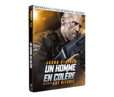 MAJ : Un Homme en Colère de Guy Ritchie en 4K Ultra HD Blu-ray le 16 octobre