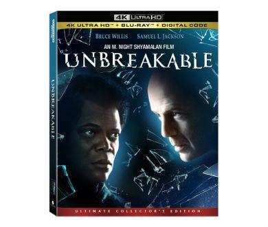 Incassable de M. Night Shyamalan en France en 4K Ultra HD Blu-ray le 10 décembre