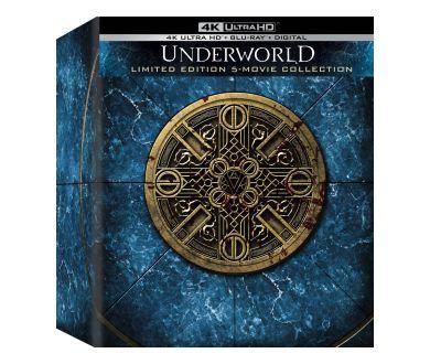The Underworld Collection en coffret 4K Ultra HD Blu-ray le 5 octobre prochain aux USA