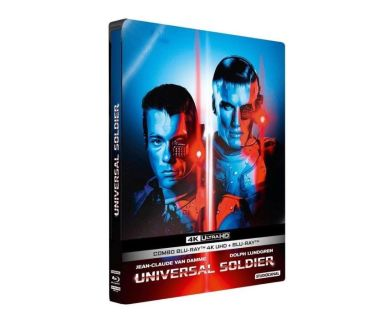 Universal Soldier en précommande 4K Ultra HD Blu-ray chez Studio Canal