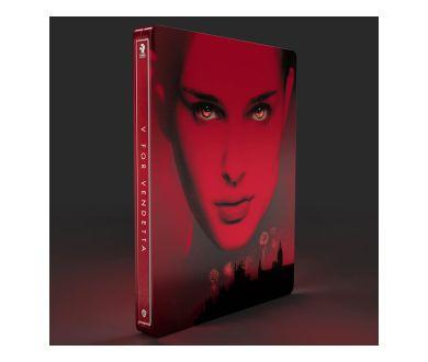 MAJ : V for Vendetta (2006) aperçu en 4K Ultra HD Blu-ray