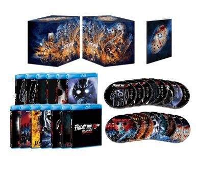 Saga Vendredi 13 : Un coffret Blu-ray Steelbook le 20 octobre en France
