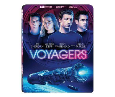 Voyagers (2021) de Neil Burger en 4K Ultra HD Blu-ray aux USA dès le 15 juin 2021