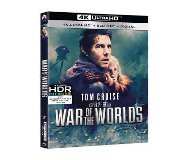 MAJ FRANCE : La Guerre des Mondes (2005) le 19 mai en 4K Ultra HD Blu-ray
