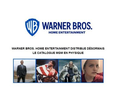 MGM : Warner en charge de la distribution en France des Blu-ray et 4K