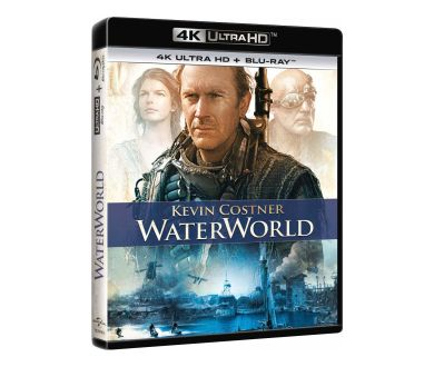 Waterworld en Steelbook 4K Ultra HD Blu-ray en France en Novembre