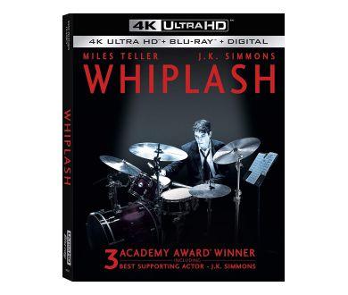 Whiplash de Damien Chazelle en 4K Ultra HD Blu-ray le 22 septembre prochain