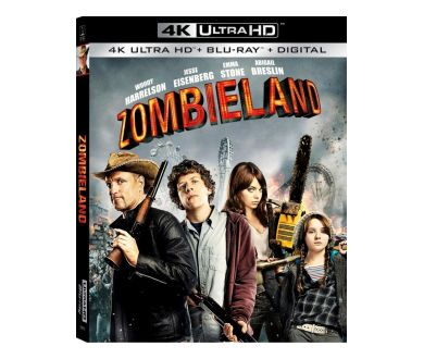 MAJ FRANCE : Bienvenue à Zombieland officialisé en 4K Ultra HD Blu-ray