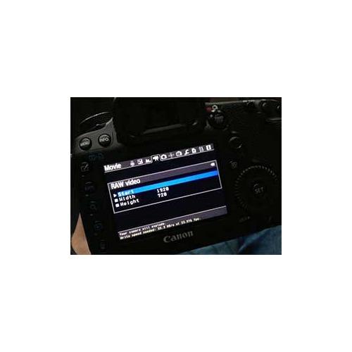 Canon 7D : Magic Lantern débloque la fonction Raw Vidéo