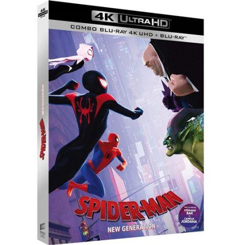 spiderman  new generation officialisé en 4k ultra hd blu