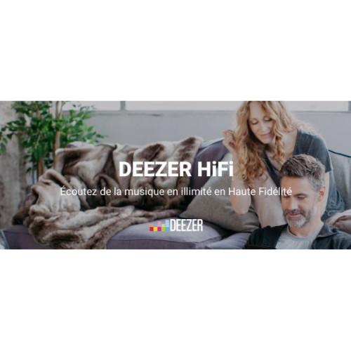 Flac : Deezer annonce le développement de son offre Deezer HiFi