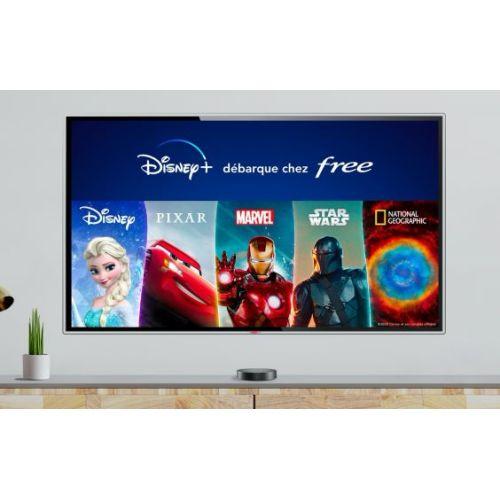 Disney+ est disponible et offert pendant 6 mois — Freebox