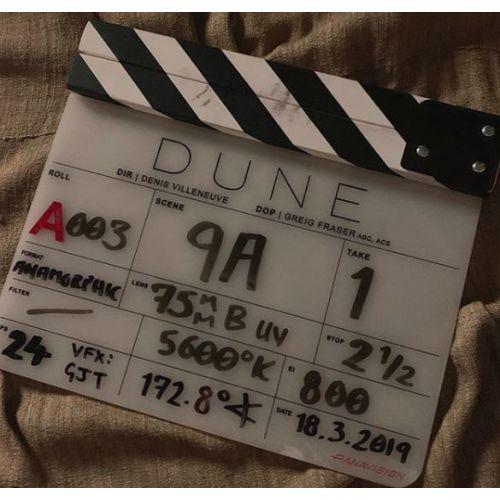Début de tournage et premier synopsis du remake — Dune