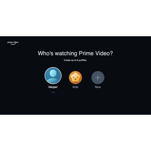 Amazon ajoute des profils dans Prime Video