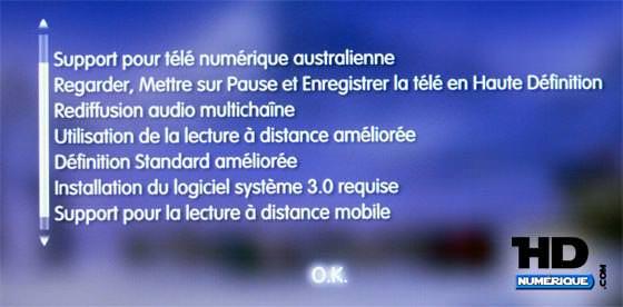 Décodeur PlayTV sur PS3 : Grosse Mise à jour (1.21) : ENFIN !