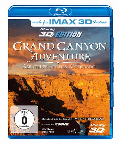 Grand Canyon Adventure : River at Risk en Blu-Ray 3D (Master 8K)