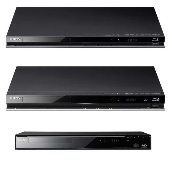 Sony dévoile 3 lecteurs Blu-Ray Disc dont 1 compatible 3D (Lunettes actives)