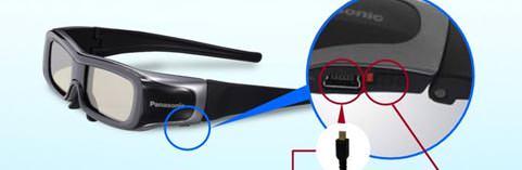 Trois nouvelles paires de lunettes 3D chez Panasonic
