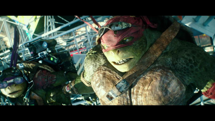 Test Blu-ray : Ninja Turtles