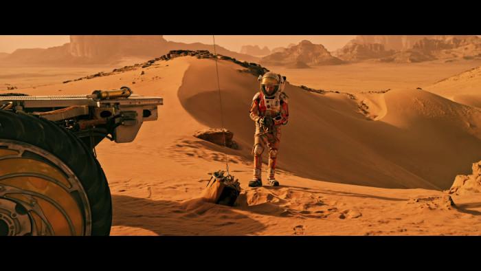 Test Blu-ray : Seul sur Mars