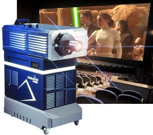 Projecteur numérique D-Cinema