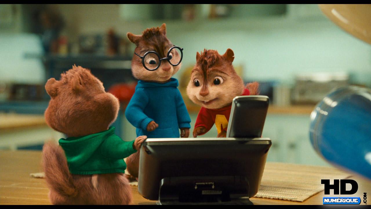 Test Blu-Ray : Alvin Et Les Chipmunks 2