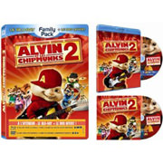 Test Blu-Ray : Alvin et les Chipmunks 2