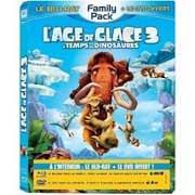 Test Blu-Ray : L'Âge de glace 3 : le Temps des Dinosaures