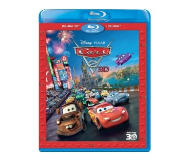 Test Blu-Ray 3D : Cars 2