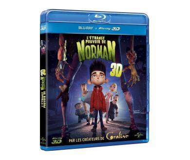 Test Blu-Ray 3D : L'étrange pouvoir de Norman