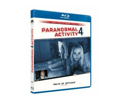 Test Blu-Ray : Paranormal Activity 4