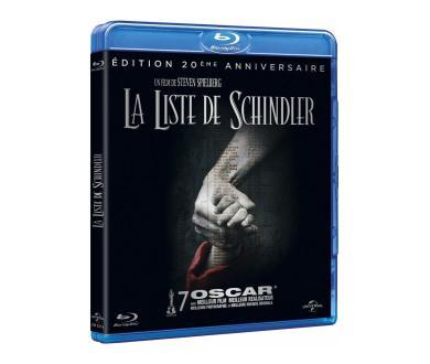 Test Blu-Ray : La Liste de Schindler