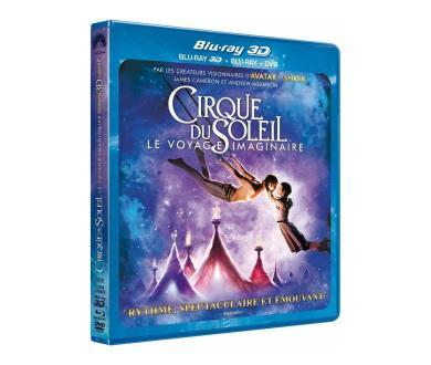 Test Blu-Ray 3D : Cirque du Soleil - Le Voyage Imaginaire