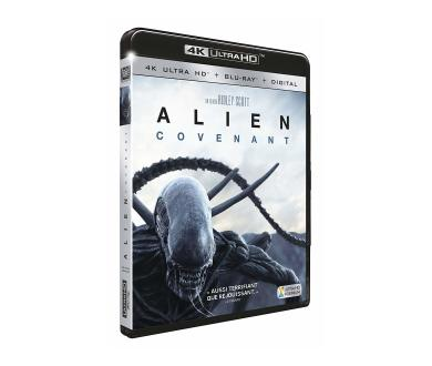 Test 4K Ultra HD Blu-Ray : Alien Covenant (Master 2K)
