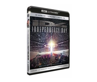 Test 4K Ultra HD Blu-Ray : Independence Day (Tournage 35mm, Master 4K)