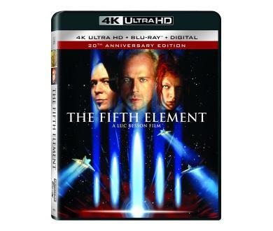 Test 4K Ultra HD Blu-Ray : Le Cinquième élement (USA, Master 4K)