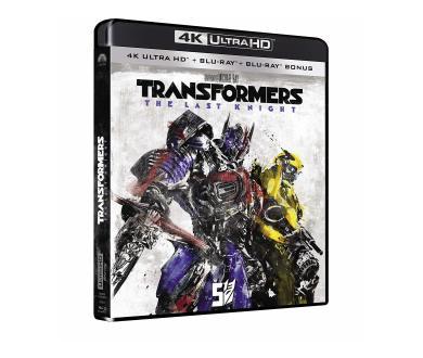 Test 4K Ultra HD Blu-Ray : Transformers - The Last Knight