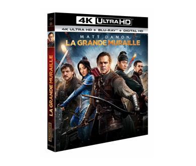 Test 4K Ultra HD Blu-Ray : La Grande Muraille (Master 4K)