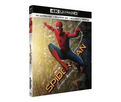 Test 4K Ultra HD Blu-Ray : Spider-Man Homecoming