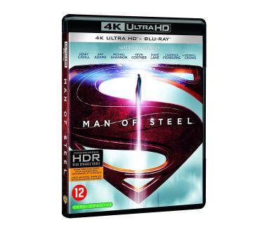 Test 4K Ultra HD Blu-Ray : Man of Steel