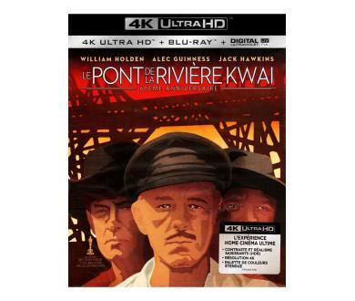 Test 4K Ultra HD Blu-ray : Le Pont de la Rivière Kwaï (Master 4K)