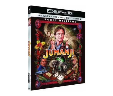 Test 4K Ultra HD Blu-ray : Jumanji (1995, Master 4K)