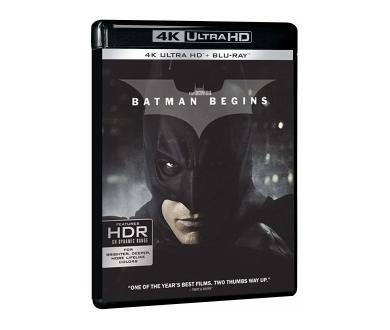 Test 4K Ultra HD Blu-Ray : Batman Begins