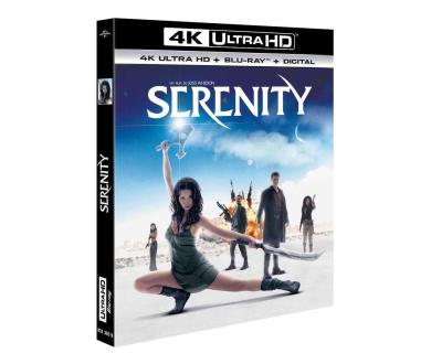 Test 4K Ultra HD Blu-ray : Serenity