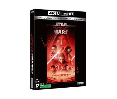 Test 4K Ultra HD Blu-ray : Star Wars : Episode VIII - Les Derniers Jedi